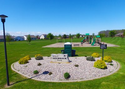 shamrock park wi, aerial photos of wrightstown wi,arial photos of wrightstown wisconsin,drone photography of wrightstown wi