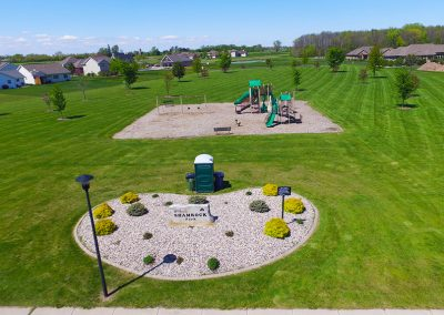 shamrock park, wrightstown wi, aerial photos of wrightstown wi,arial photos of wrightstown wisconsin,drone photography of wrightstown wi