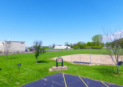 van dyke park, aerial photos of wrightstown wi,arial photos of wrightstown wisconsin,drone photography of wrightstown wi