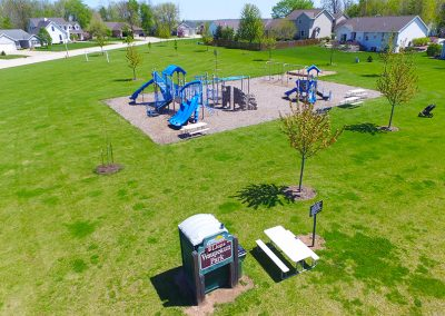 lions,waupekun park, aerial photos of wrightstown wi,arial photos of wrightstown wisconsin,drone photography of wrightstown wi