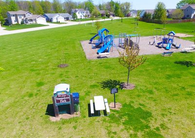 aerial photos of wrightstown wi,play ground, waupekun park,arial photos of wrightstown wisconsin,drone photography of wrightstown wi