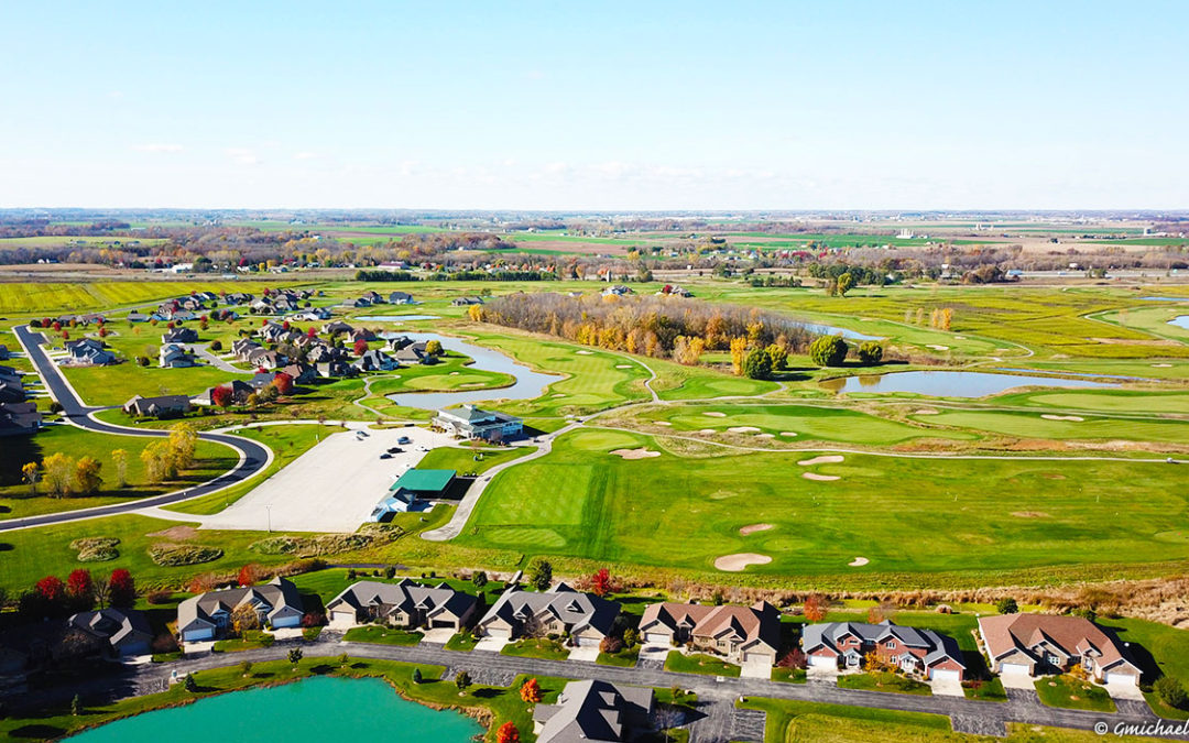 wisconsin drone photos,wrightstown wi aerial photos,fox river aerial photos,wisconsin drone photography,golf course drone photography,drone operators wisconsin