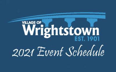 2021 Wrightstown Events Schedule